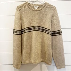 J. Crew Wool Mens Pullover Sweater size Large
